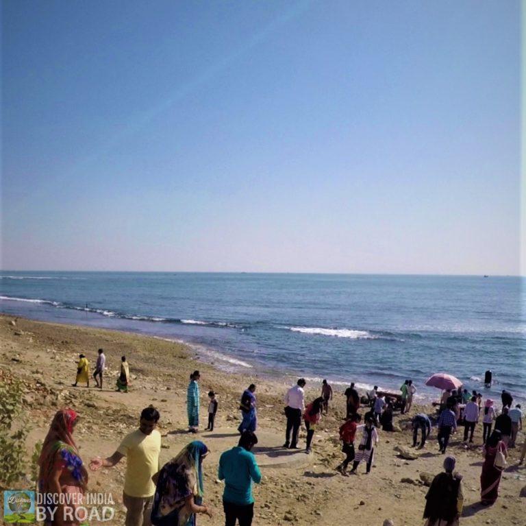 Sea face of Ban Ganga Somnath