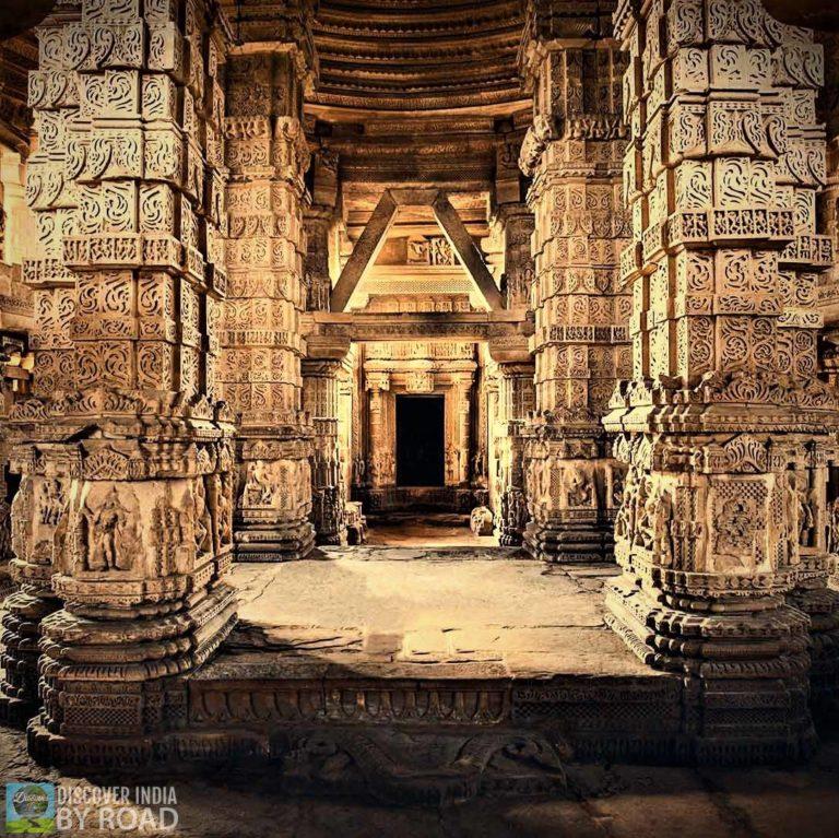 Inside Dwarka Temple