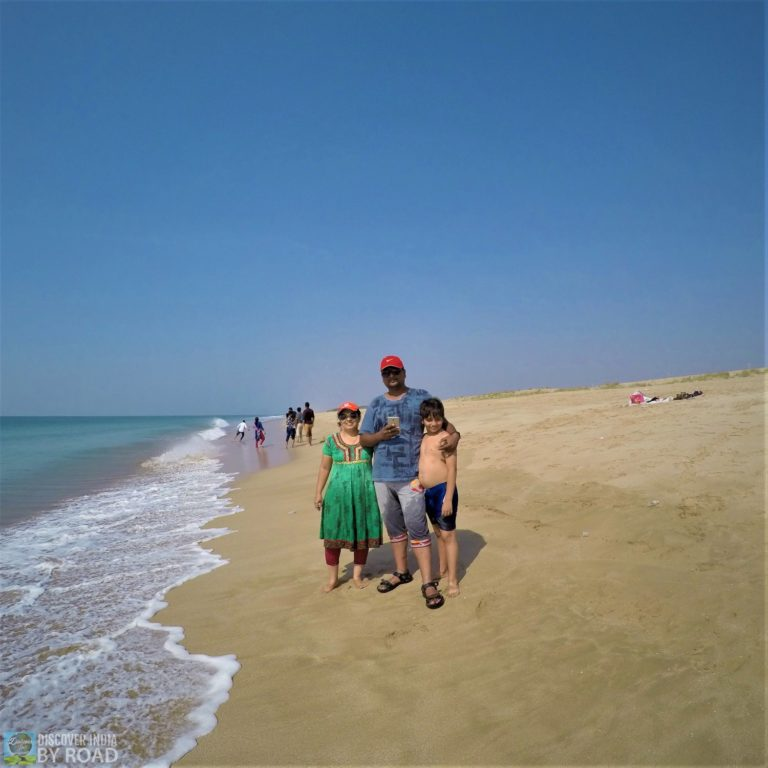Family Time on Beach