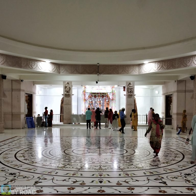 Inside Ram Mandir