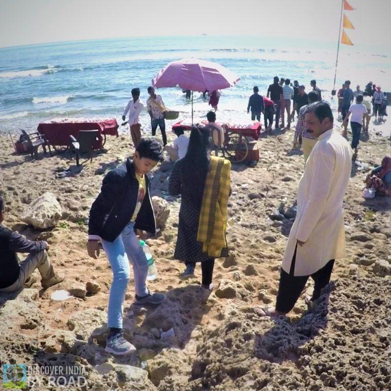 Rocky Beach of Ban Ganga Somnath