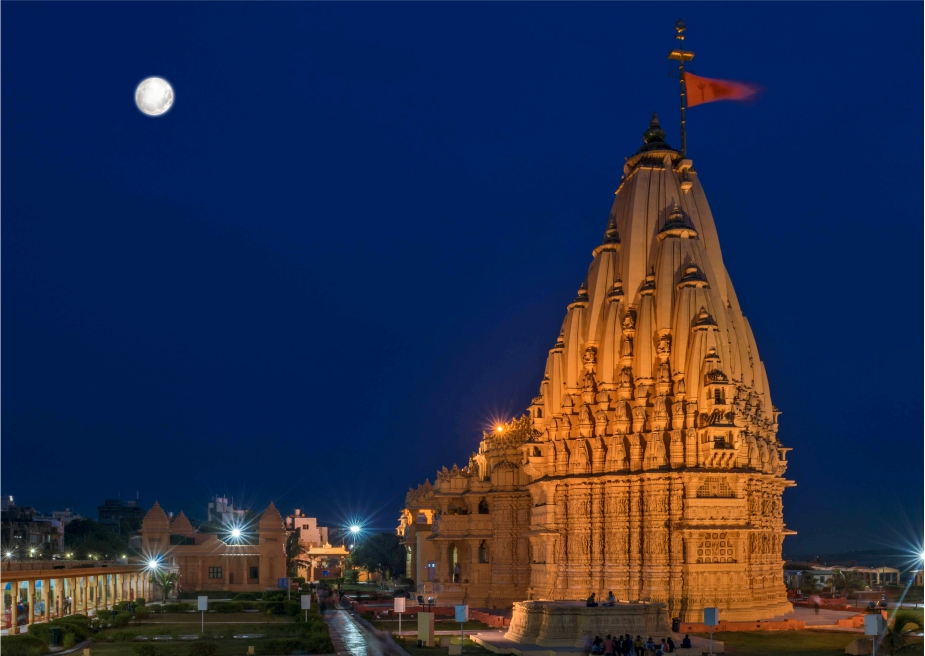 Somnath with Full Moon
