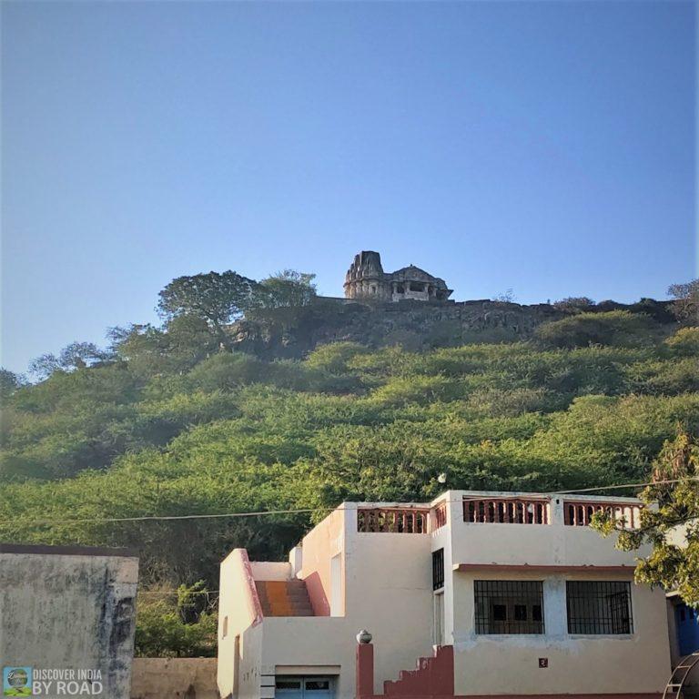 Mandir on Hill