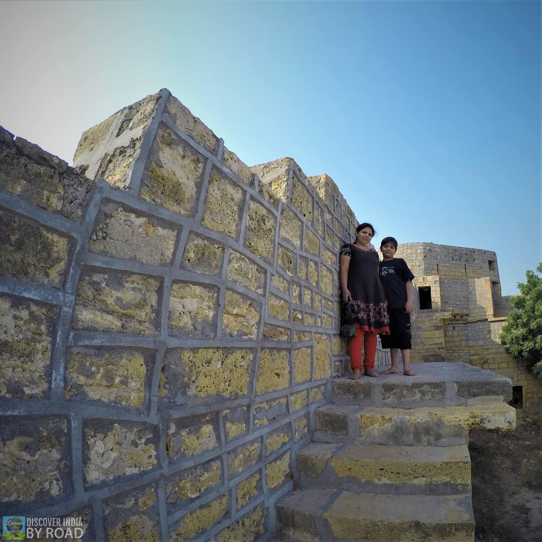Fortress Wall of Narayan Sarovar