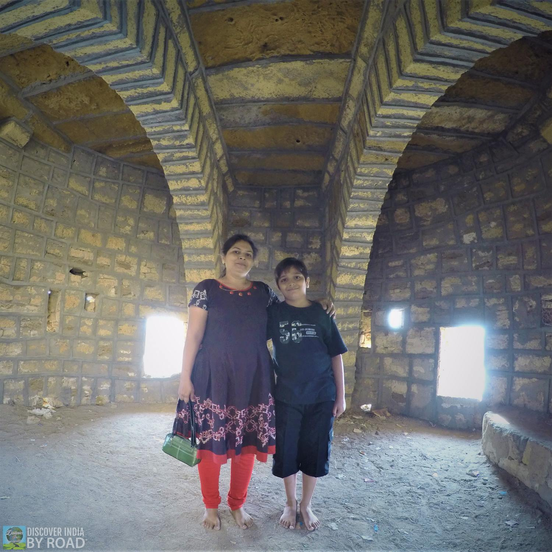 Inside Watch Tower at Narayan Sarovar