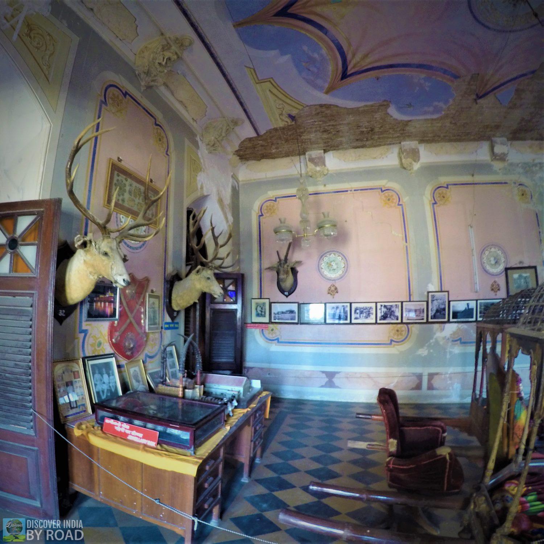 Inside Palace of Prag Mahal Palace
