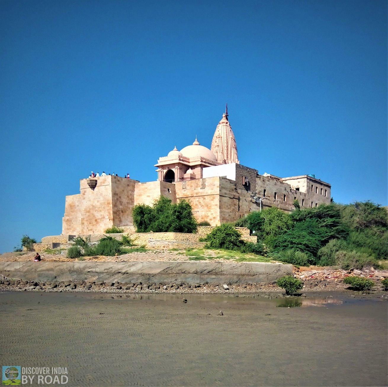 View of Koteshwar Mahadev temple from Seashore
