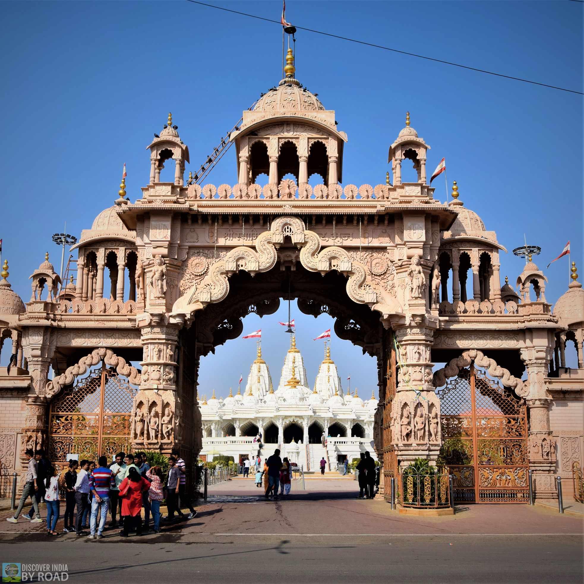 Main Entrance of Shree Swaminarayan Temple Bhuj