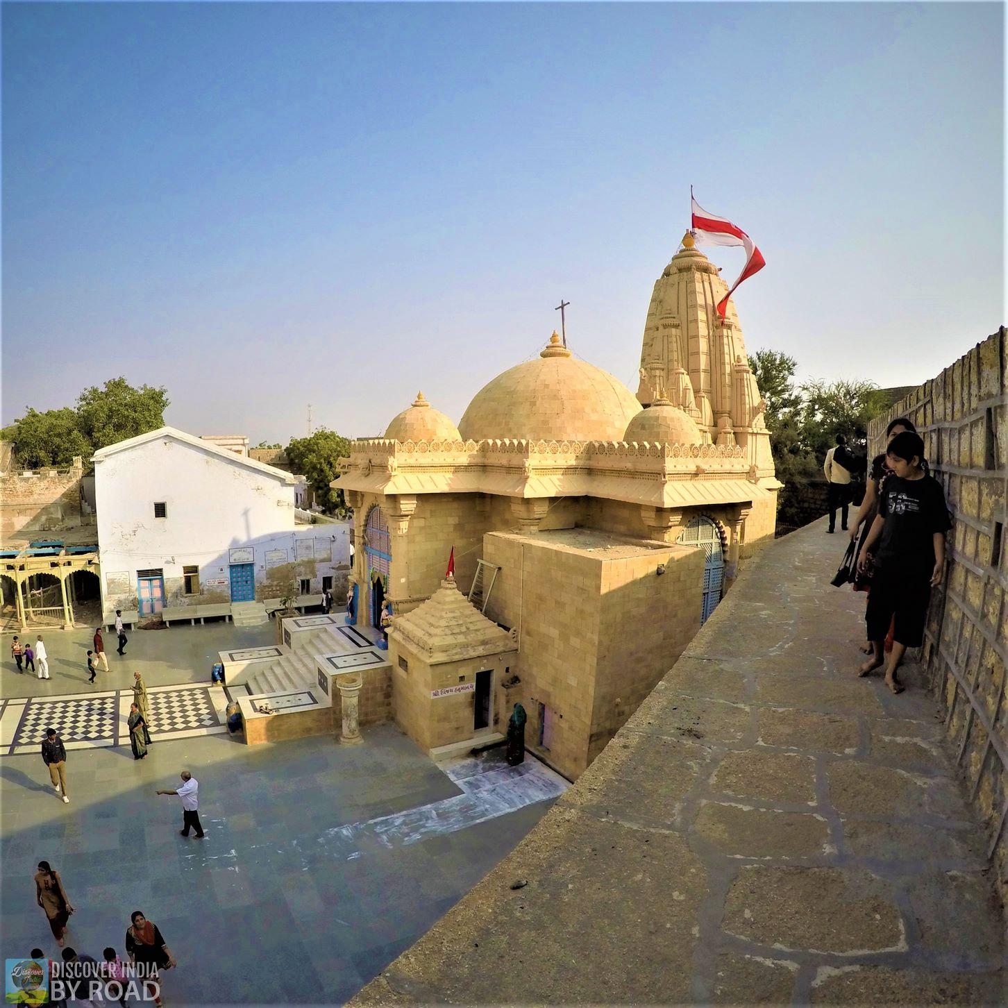 Trivikramrai ji temple at Narayan Sarovar