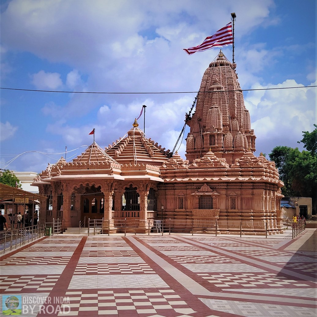 Mata na madh temple exterior view