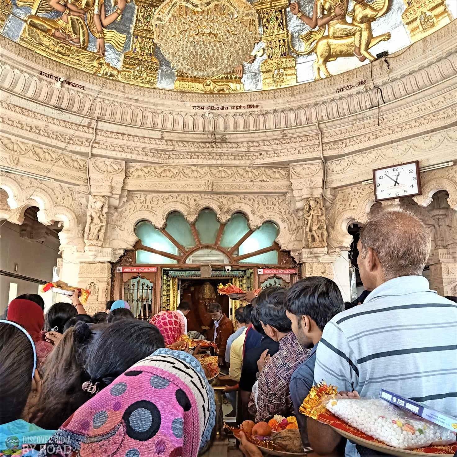 Prayer Hall of Mata na Madh Temple
