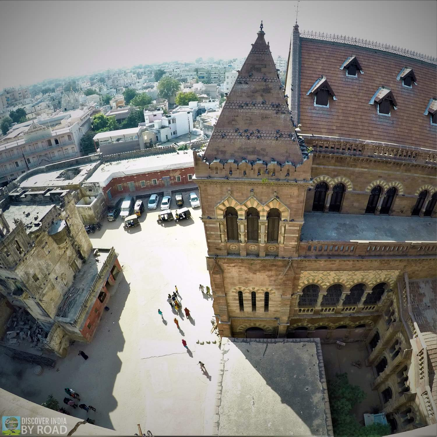 View from Top of Prag Mahal Palace
