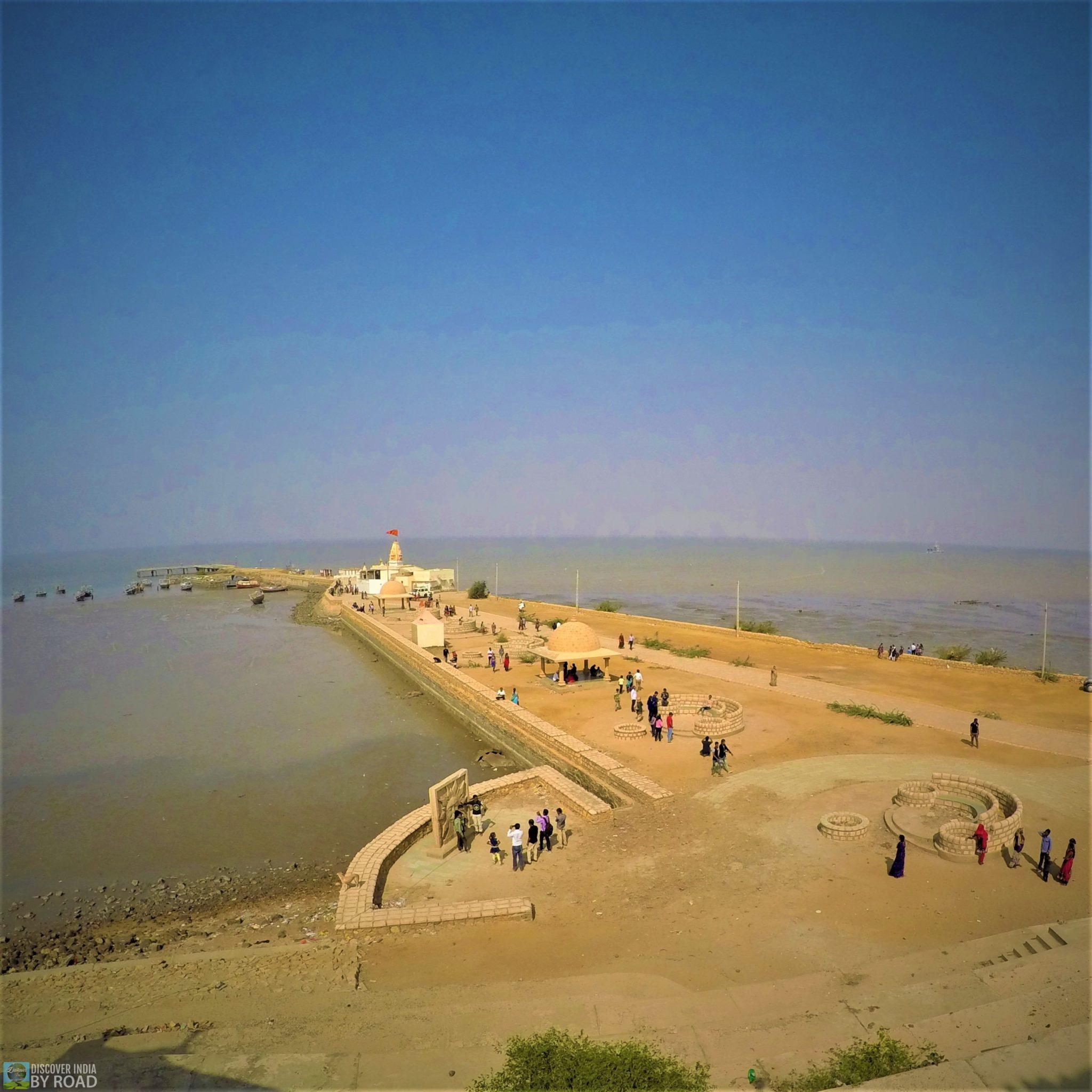 Sea view from top of Koteshwar Mahadev temple