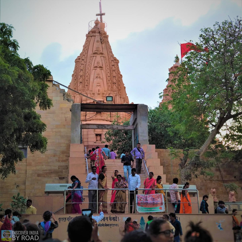 Way to Koteshwar Mahadev temple