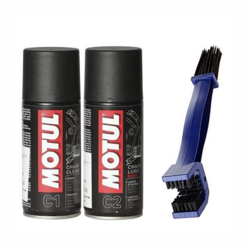 Motul Chain Clean & Lube with brush