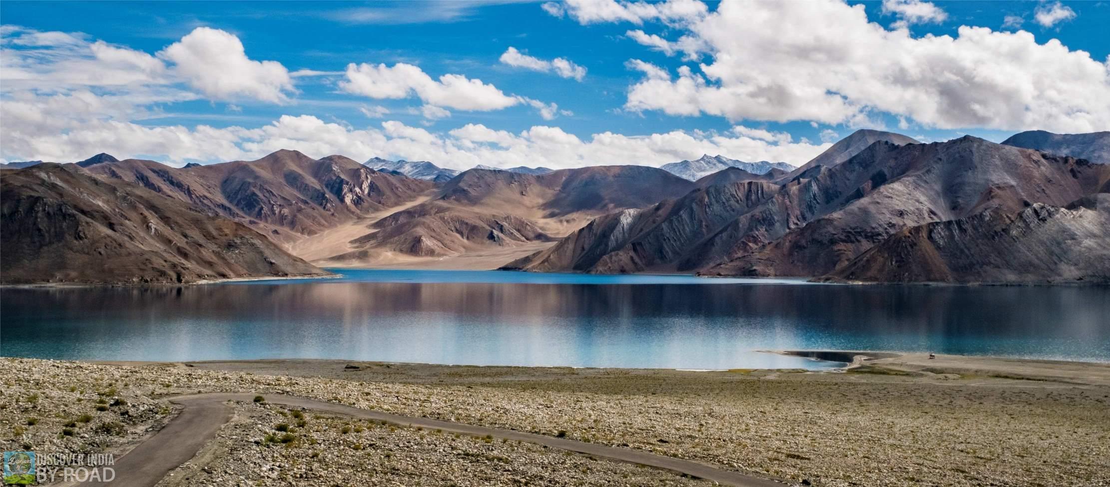 Ladakh in August Pangog tso
