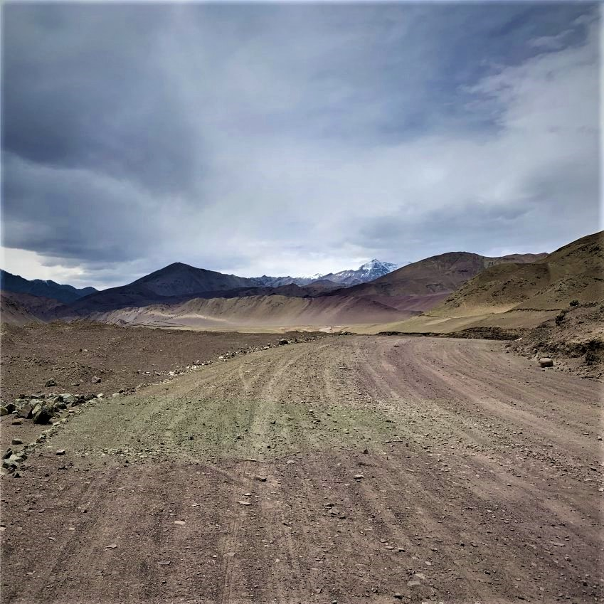Road from Sumdo to Tso kar