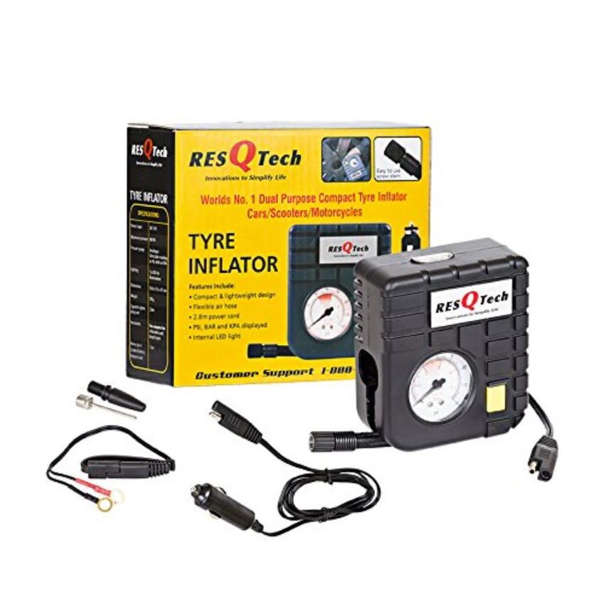 12 v Tyre Inflator with outer box